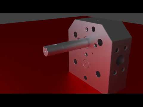 Gear Metering Pump Assembly Animation