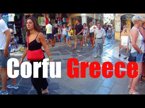 Corfu, Greece: A Tour of the Beautiful Old Town