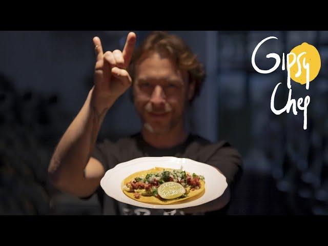 Los tacos asturianos más bestiales de Gipsy Chef