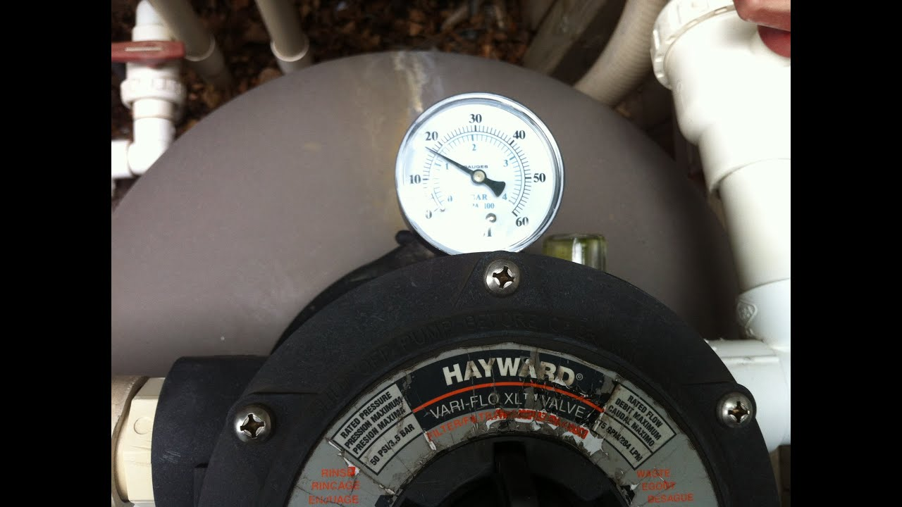 Pool Filter Pressure Too High Youtube