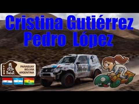 Cristina Gutiérrez y Pedro López en el Dakar 2017 (Audios originales)