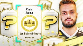 J'OUVRE MON PLAYER PICK ICONE MIDDLE OU PRIME & SBC 81+