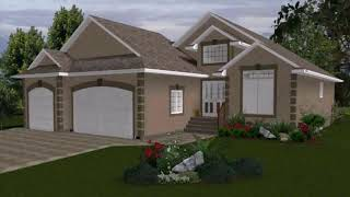 Bungalow House Plans With Three Car Garage