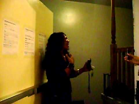 Myracle Holloway singin for DJCC ladies
