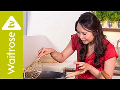 Ching He Huang's Sichuan Sweet and Sour Prawns | Waitrose - YouTube