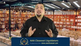 Closeout buyers of overstock, liquidation and surplus inventory ...www.aaacloseout.com