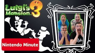 Can the Developers of Luigi's Mansion 3 Beat ScareScraper?? | Nintendo Minute
