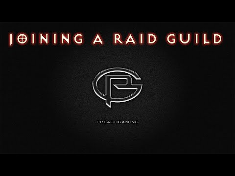 How To Join A Raid Guild - Legion Edition