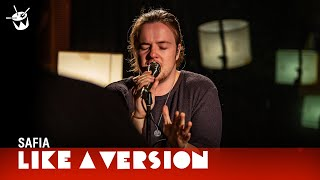 SAFIA - 'Resolution' (live for Like A Version)