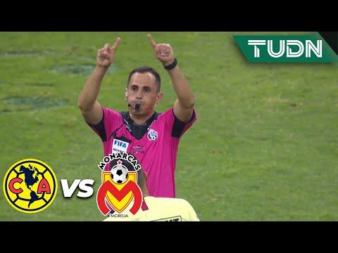 ¡Anulan el gol a Monarcas! | América 2 - 0 Morelia | Liga Mx - AP19 - Semifinal | TUDN