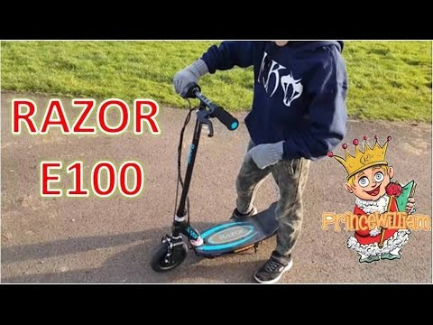 RAZOR E100 ELECTRIC SCOOTER POWER CORE: HAVING FUN!! Review Test