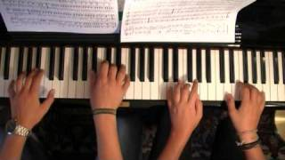Anton Diabelli - Rondo Allegro Op.163 #6 (4 hands) *HQ* (very easy)