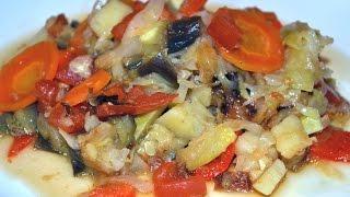 Овощное рагу в мультиварке - простой диетический рецепт.