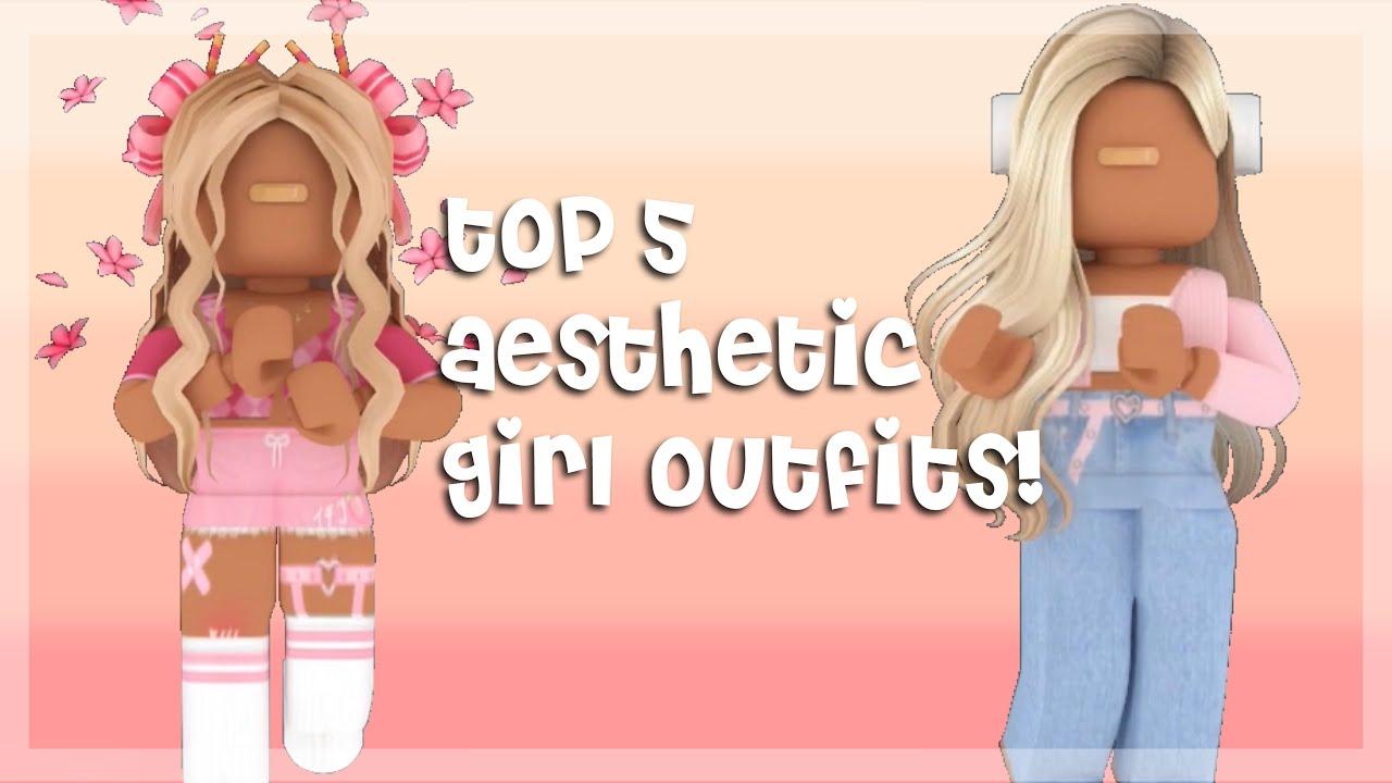 Top 5 Aesthetic Roblox Girl Outfits! | iiMillz - YouTube