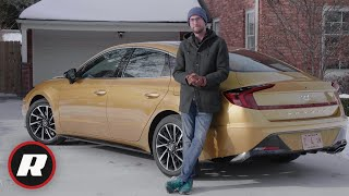 2020 Hyundai Sonata review: Weird face, great car