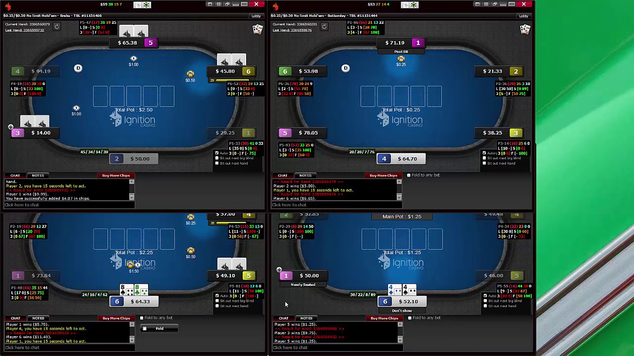 Texas holdem out of position