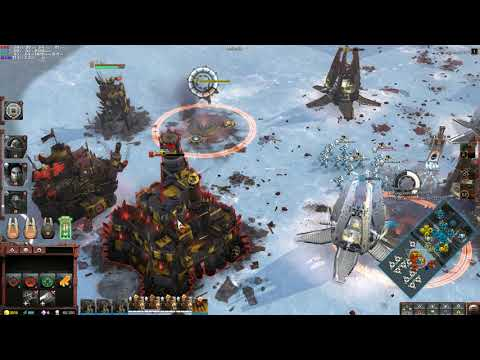 Warhammer 40000  Dawn of War III Защищаем крепость от полчищ орков |