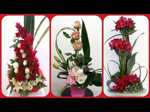 beautiful-fresh-flower-arrangement,-bouquet-collection