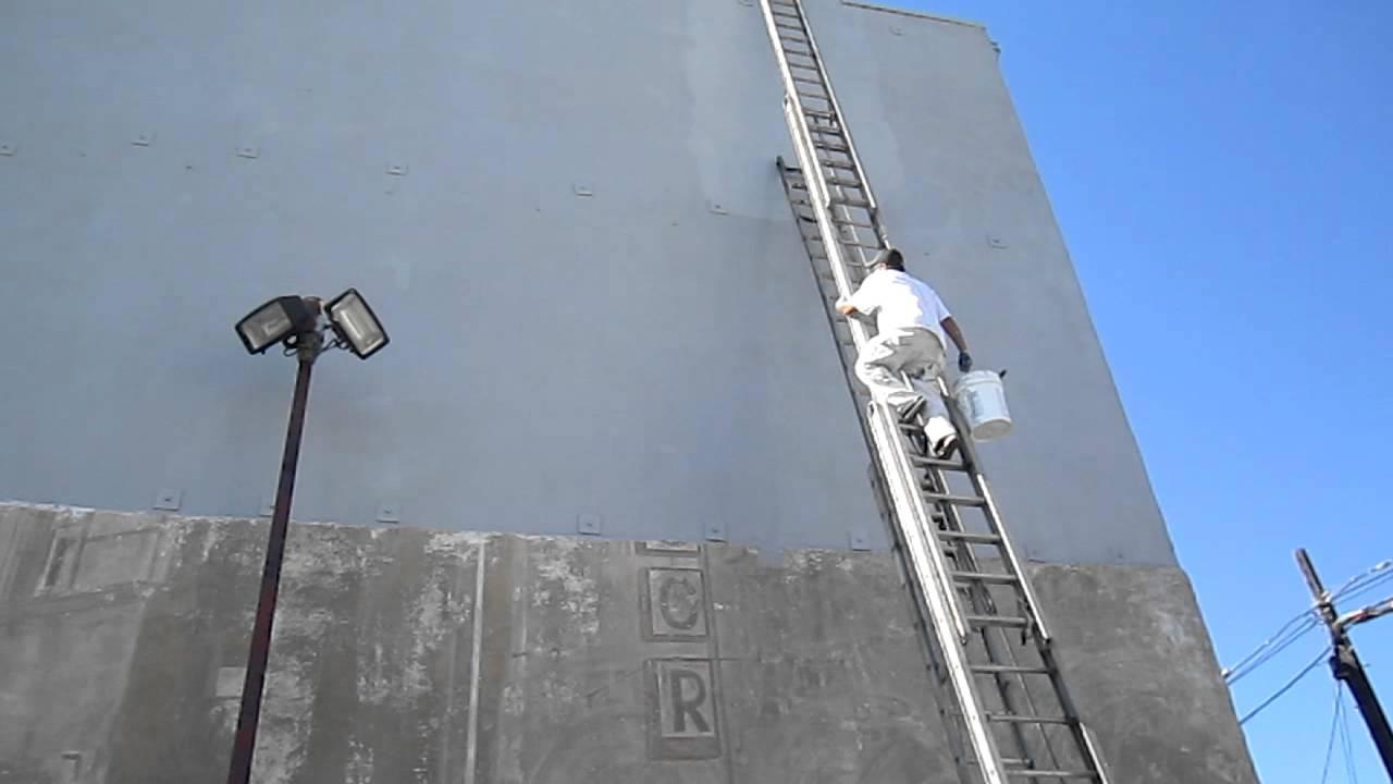 Windward Mural Part 1 Worlds Tallest Ladder Venice Beach