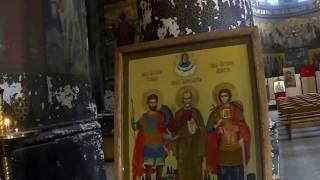 Новоафонский храм Абхазия (Видео Турист)(Видео Турист Новоафонский храм Абхазия (Видео Турист), 2015-04-22T19:34:25.000Z)