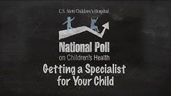 Parents unclear on how to secure specialist care for kids