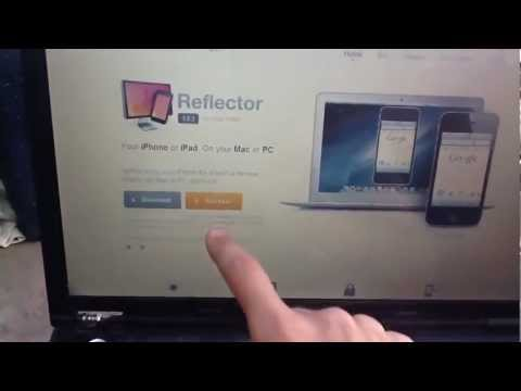 Visualiza tu iPhone, iPad en Mac o Windows sin cables con Reflector