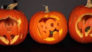 Pumpkin Carving Designs & Faces : Decorating Pumpkins