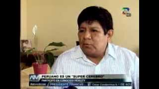 "Tuteve.tv / Peruano sorprende en programa de ""súper genios"" de Nat Geo"