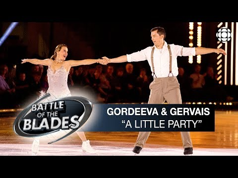 Katia Gordeeva And Bruno Gervais Perform To 'A Little Party' | Battle Of The Blades