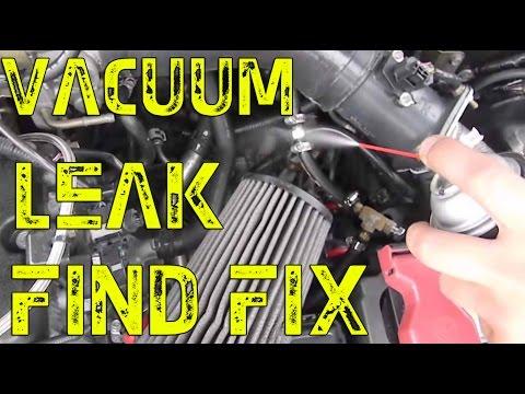 DIY Vacuum leak find/fix | High idle check engine light code P0507