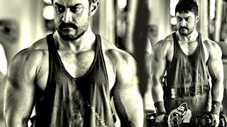 Aamir Khan's Gym Bodybuilding Workout For DANGAl Leaked