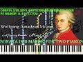 Моцарт Соната для 2 х фортепиано Pе мажор Sonata In D Major For Two Pianos K 375a K 448 1781 mp3