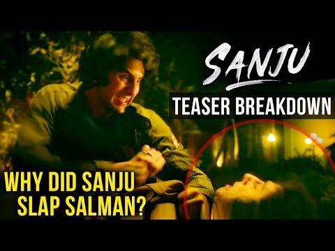 Why Did Sanjay Dutt SLAP Salman Khan In 'Sanju' Teaser? | Ranbir Kapoor | Rajkumar Hirani