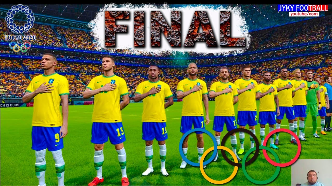 Download PES 2021 - Brazil vs Spain Final Tokyo 2020 - Olympic games - Full Match HD - Jyky Football