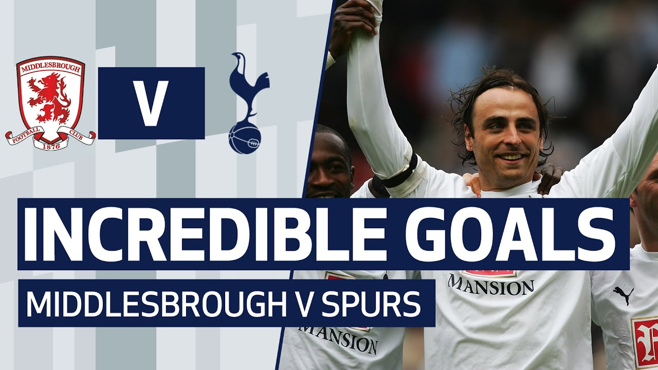 6 AMAZING GOALS V MIDDLESBROUGH | ft. Heung-min Son, Dimitar Berbatov & Jermain Defoe!
