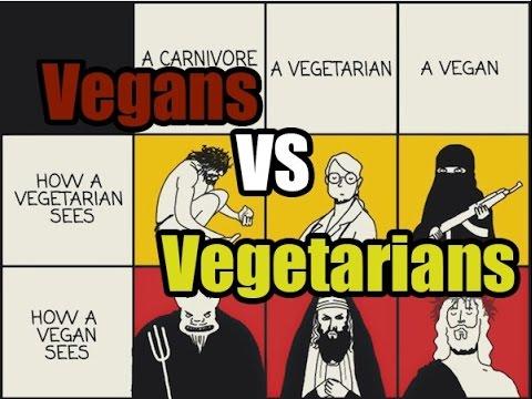 Vegans VS Vegetarians   The Unbiased Truth