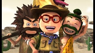Oko Lele - All Episodes (1-5) - animated short CGI - funny cartoon - Super ToonsTV