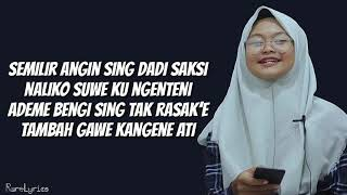 SAYANG 9 (Lyrics Video) - Cover By Monica