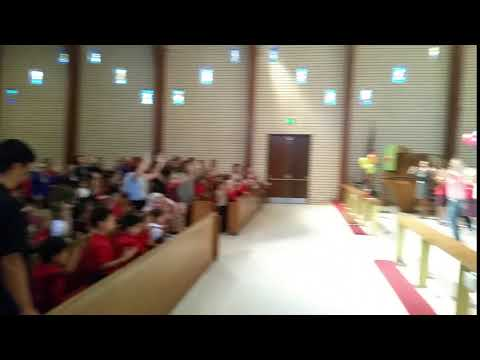 Jana Alayra at Red Hill Lutheran School Chapel