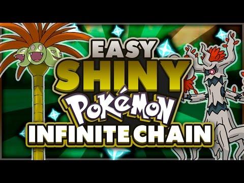 EASY SHINY POKEMON! INFINITE CHAIN in POKEMON SUN AND MOON! How to Get Shiny Pokemon in Sun Moon