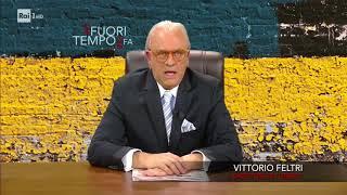 Crozza/vittorio Feltri Commenta L'arrivo Del Natale - Che Fuori Tempo Che Fa 18/12/2017