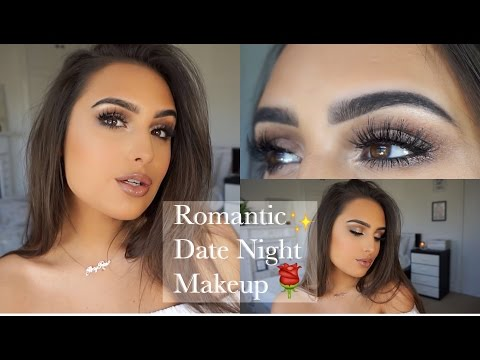 ROMANTIC ROSE GOLD DATE NIGHT MAKEUP TUTORIAL
