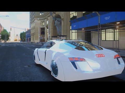Audi RSQ Concept - GTA IV ENB - 2.7K / 1440p !