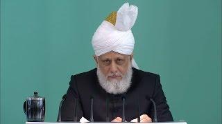 Freitagsansprache 25.03.2016 - Islam Ahmadiyya
