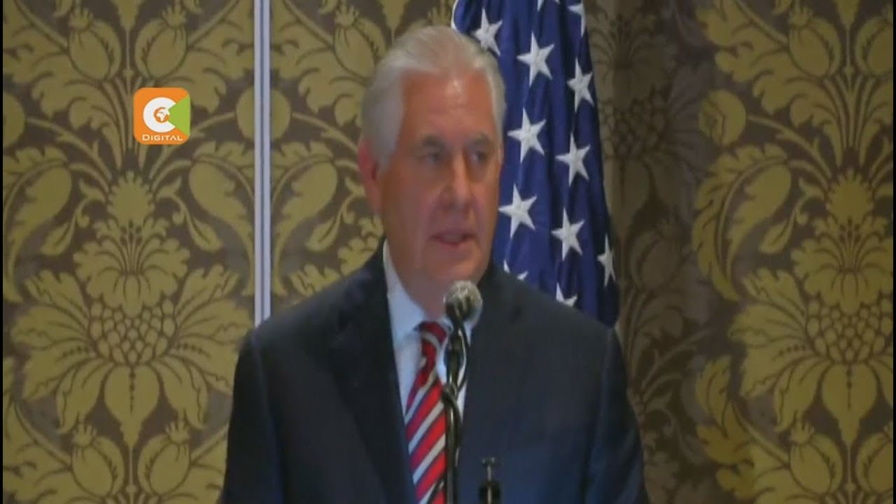 Rex Tillerson terms Uhuru-Odinga talks mature democracy