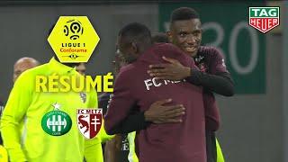 AS Saint-Etienne - FC Metz ( 0-1 ) - Résumé - (ASSE - FCM) / 2019-20