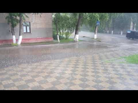А в Наро - Фоминске сегодня ЛИВЕНЬ !!!