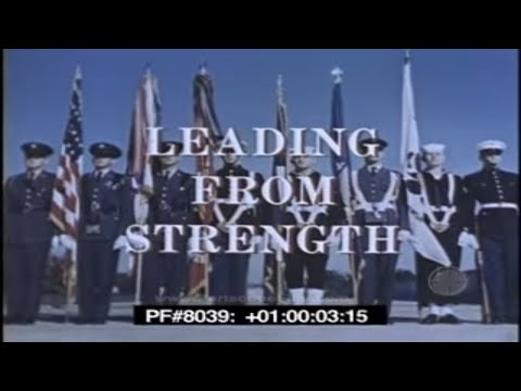LEADING FROM STRENGTH - US MISSILES AND MILITARY MIGHT 80390