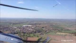 Cessna 152 Landing East Midlands Airport (ema/egnx)
