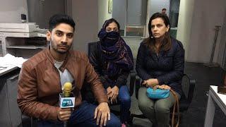 दिल्ली DTC बस में Molestation का शिकार हुई लड़की News Tak पर । Live